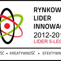 Rynkowy Lider Innowacji 5 lecie czerwone